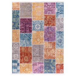 Kusový koberec Quantum 1807 Patchwork