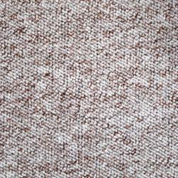 Metrážový koberec Bern 11 bílo-hnědý