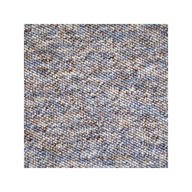 Metrážový koberec Bern 32 béžovo-modrý