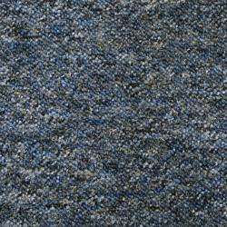 Metrážový koberec Saturn 35 modro-černý