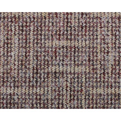 Metrážový koberec Zaragoza 1652 béžovo-červený