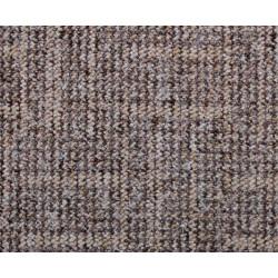 Metrážový koberec Zaragoza 1619 hnědo-béžový