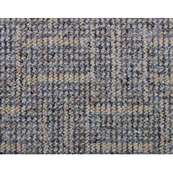 Metrážový koberec Zaragoza 1633 béžovo-modrý