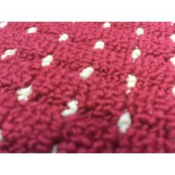 Metrážový koberec Birmingham červený