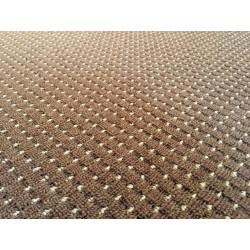 Metrážový koberec Birmingham hnědý