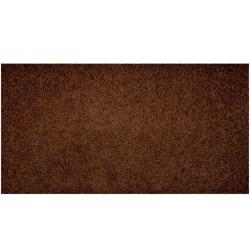 Metrážový koberec Color Shaggy tmavě hnědý