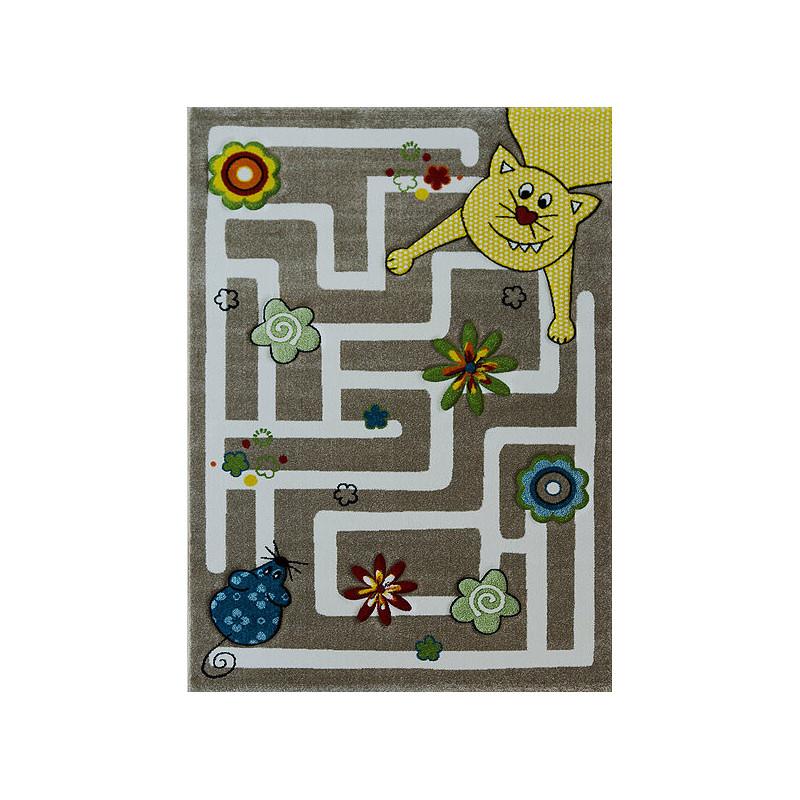 Dětský kusový koberec Smart Kids 22303 Beige