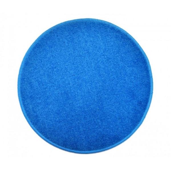 Vopi koberce Eton světle modrý koberec kulatý, koberců 80x80 cm kruh Modrá - Vrácení do 1 roku ZDARMA