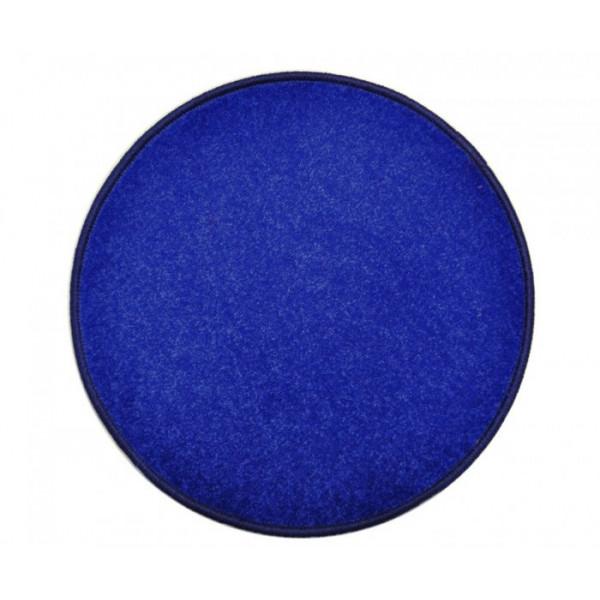 Vopi koberce Eton tmavě modrý koberec kulatý, koberců 80x80 cm kruh Modrá - Vrácení do 1 roku ZDARMA