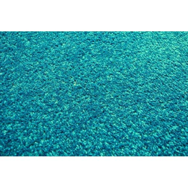 Vopi koberce Kusový petrolejový koberec Eton, kusových koberců 50x80 cm% Zelená - Vrácení do