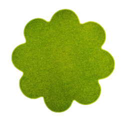 Květinový koberec Eton zelený