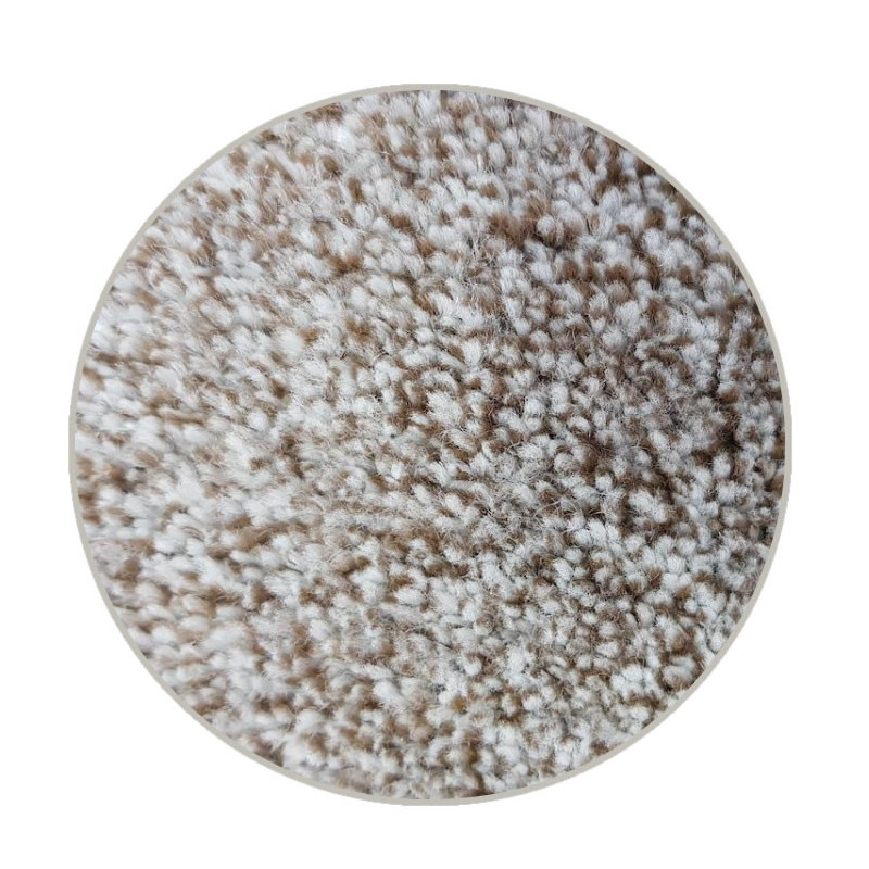 Kruhový koberec Apollo Soft béžový