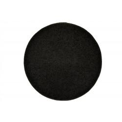 Kusový kulatý koberec Elite Shaggy antra
