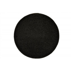 Kusový kulatý koberec Color Shaggy antra
