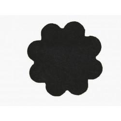 Kusový koberec Color Shaggy antra kytka