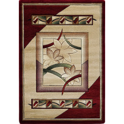 Kusový koberec Adora 5197 B (Red)