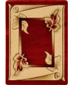 Kusový koberec Adora 7014 B (Red)