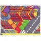Dětský metrážový koberec Big City 97