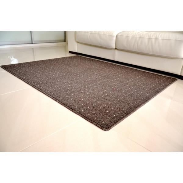 Vopi koberce Kusový koberec Udinese hnědý, kusových koberců 50x80 cm% Hnědá - Vrácení do 1