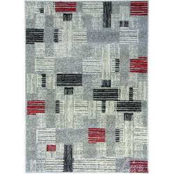 Kusový koberec COSI 78447 Grey/Red