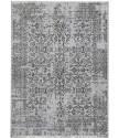 Ručně vázaný kusový koberec Diamond DC-JK 1 silver/black