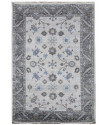 Ručně vázaný kusový koberec Diamond DC-USHAK silver/black
