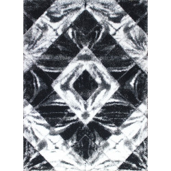 Kusový koberec Softy 3D 2212 White Black