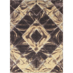 Kusový koberec Softy 3D 2212 White Brown