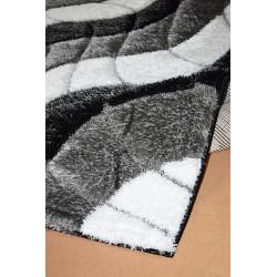 Kusový koberec Seher 3D 2616 Black Grey