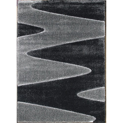Kusový koberec Seher 3D 2652 Black Grey