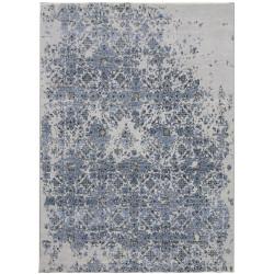 Ručně vázaný kusový koberec Diamond DC-JK 3 Silver/blue
