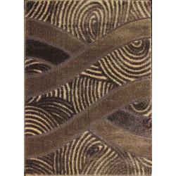 Kusový koberec Seher 3D 2653 Brown Beige