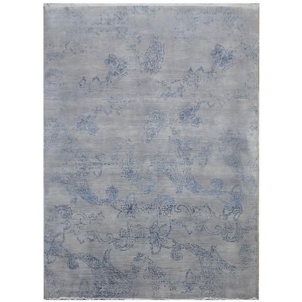 Ručně vázaný kusový koberec Diamond DC-KERRY 2 Silver/blue