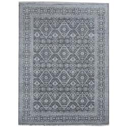Ručně vázaný kusový koberec Diamond DC-HALI B Grey/silver