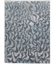 Ručně vázaný kusový koberec Diamond DC-M1 Grey/aqua
