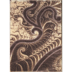 Kusový koberec Seher 3D 2654 Brown Beige