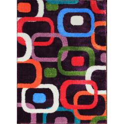Kusový koberec Seher 3D 2660 D.Lila