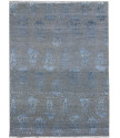 Ručně vázaný kusový koberec Diamond DC-EKT 10 Silver/blue
