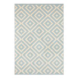 Kusový koberec Celebration 103457 Native Blue Creme