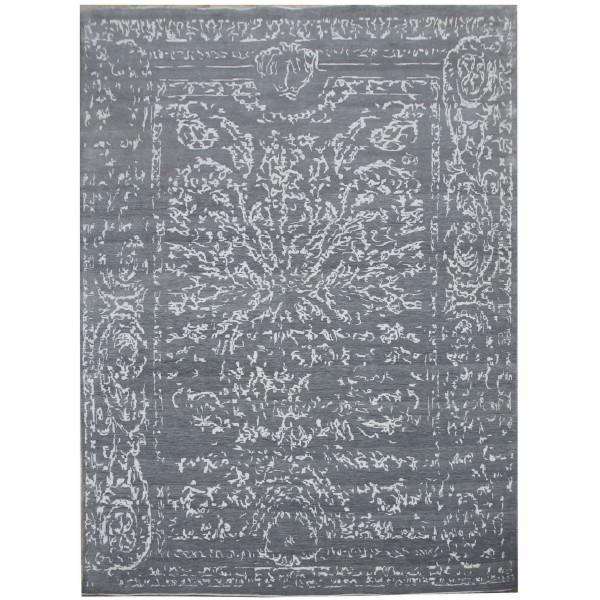 Ručně vázaný kusový koberec Diamond DC-JK 2 Light grey/silver