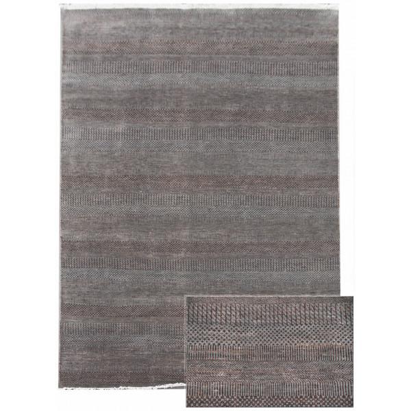 Ručně vázaný kusový koberec Diamond DC-MCN Light grey/brown
