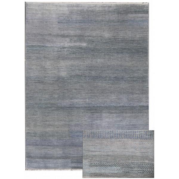 Ručně vázaný kusový koberec Diamond DC-MCN Silver/light blue