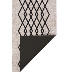 Běhoun Modern Wave 60x180 Cook & Clean 103364 creme black