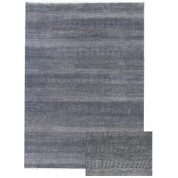 Ručně vázaný kusový koberec Diamond DC-MCN Dark blue/silver