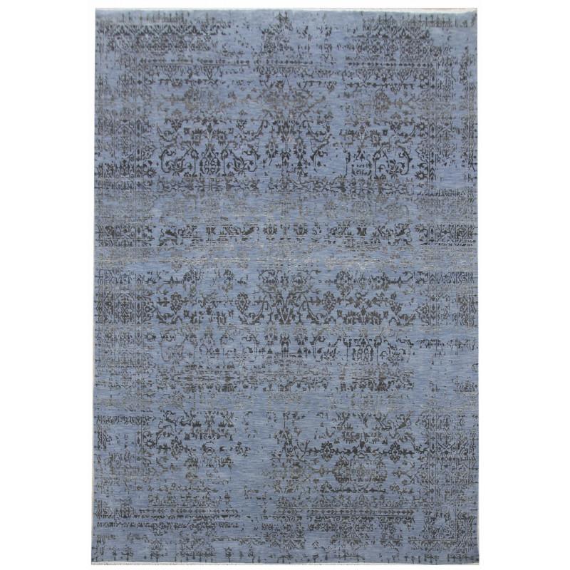 Ručně vázaný kusový koberec Diamond DC-JK 1 Jeans blue/black