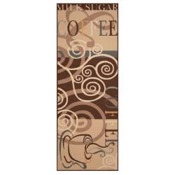 Běhoun Coffee Ornament 67x180 Vibe 103491 brown