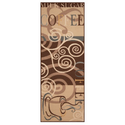 Běhoun Coffee Ornament 67x180 Vibe 1034941 brown