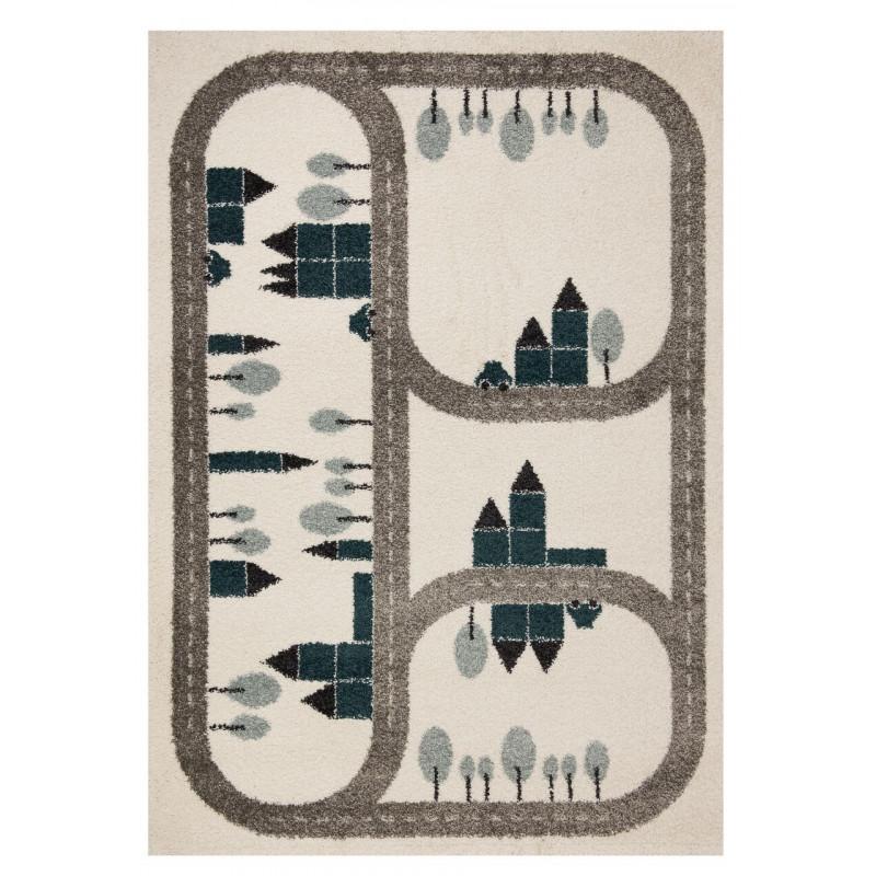 Dětský kusový koberec Vini 103349 Country Road 120x170 cm