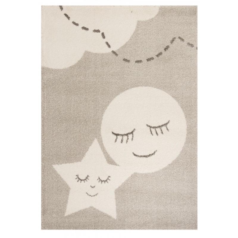 Kusový koberec Vini 103350 Star and Moon 120x170 cm