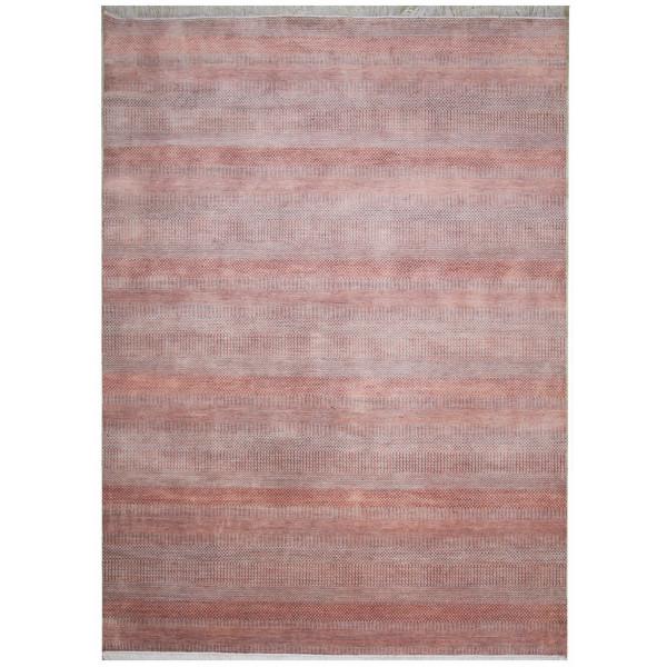 Ručně vázaný kusový koberec Diamond DC-MCN Silver/m.red